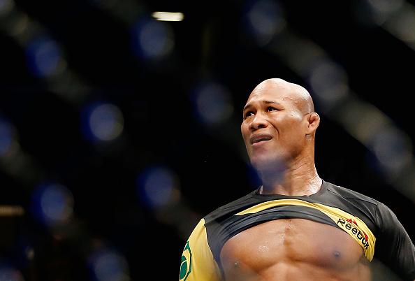 Jacaré está descontente com o UFC (Foto: Anthony Geathers/UFC)