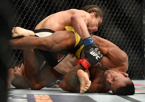 Marajó finalizou Sanders (FOTO: Jeff Bottari/UFC)
