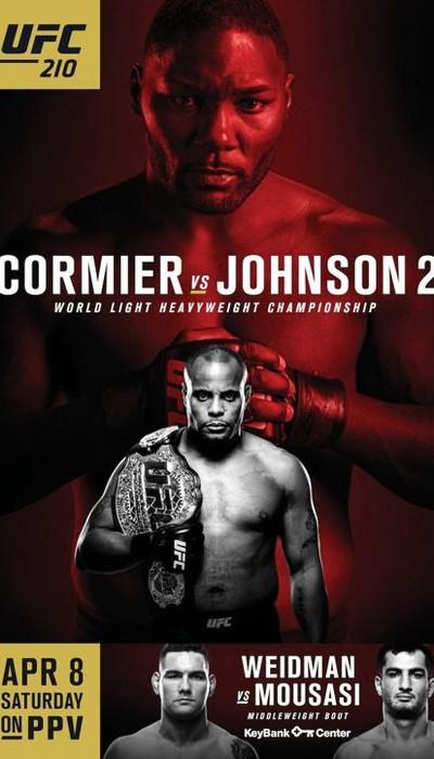Pôster polêmico do UFC 210 (FOTO: Divulgação)