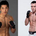 Kim (esq) e Covington (dir) se enfrentam em junho. ((Fotos: UFC/Montagem: Super Lutas)