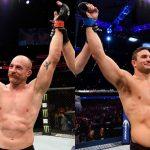 Cummins (esq) e Villante (dir) se enfrentam em julho. (Fotos: UFC/Montagem: Super Lutas)