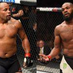 Cormier (esq) e Jones (dir) se enfrentam em julho (Fotos: UFC/Montagem: Super Lutas)
