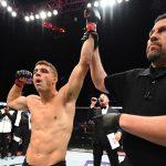 A. Iaquinta (esq) não poupou críticas ao UFC (Foto: Jeff Bottari/UFC)