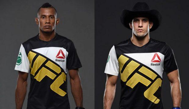 Marajó (esq) e Sertanejo farão revanche no Rio (Fotos: UFC/Montagem: Super Lutas)