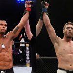Duelo válido pela divisão dos médios acontece em julho (Fotos: UFC/Montagem: Super Lutas)