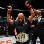 D. Johnson venceu tradicional prêmio (Foto: Reprodução/Facebook/UFC)
