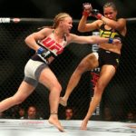 Amanda (dir) já derrotou Shevchenko (esq) em 2016 (Foto: Facebook/UFC)