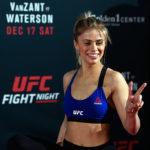 VanZant causou polêmica nas redes sociais (Foto: Jeff Bottari/UFC)