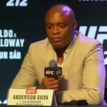 Anderson não lutará mais no UFC 212 (Foto: Reprodução/Youtube)