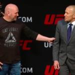 Dana revelou que GSP deve lutar pelo título até 77kg. (Foto: Reprodução/Youtube)