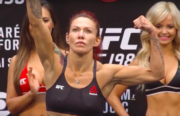 Cyborg lutará em julho (Foto: Reprodução/Youtube UFC)