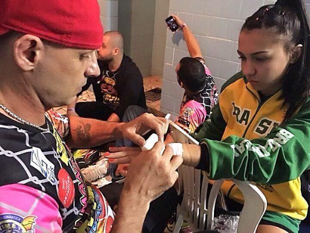 A. Ribas só irá estrear no UFC em 2019 (Foto: Reprodução Facebook Amanda Ribas MMA)
