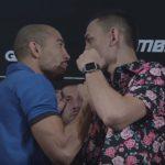 Aldo e Holloway não se cumprimentaram (Foto: Reprodução Youtube/UFC)
