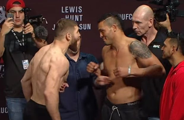 Ion Cutelaba x Luis Henrique Frankenstein. Foto: Reprodução YouTube/UFC