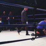 Hague (dir.) faleceu após ser nocauteado em luta de boxe. Foto: Reprodução/Instagram/sarahkaufmanmma