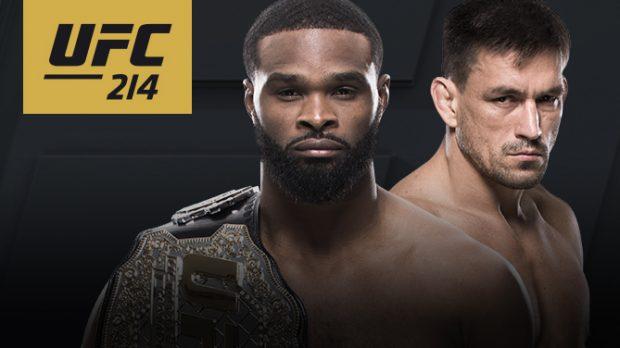 D. Maia enfrenta T. Woodley no UFC 214 pelo cinturão dos meio-médios. Foto: Divulgação