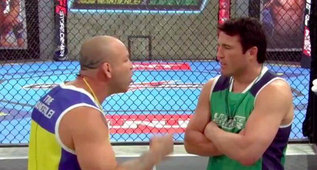 Wanderlei e Sonnen já brigaram (Foto: Reprodução/Youtube/UFC