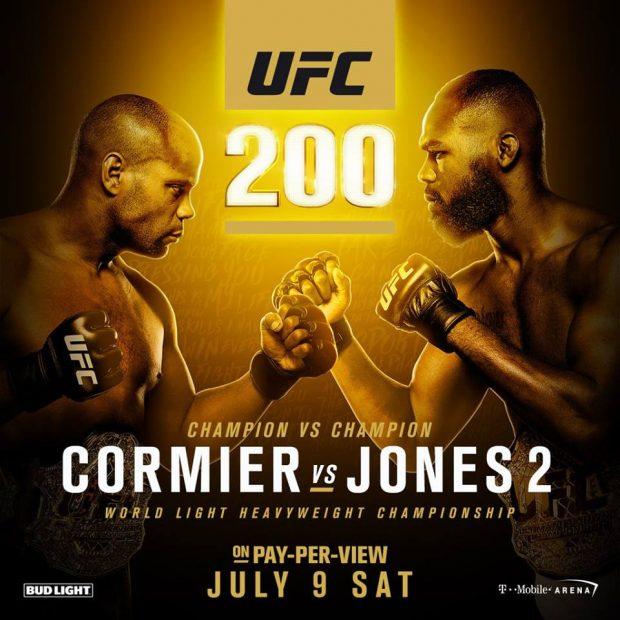 Revanche esperada para o UFC 200 não aconteceu (Reprodução Faebook Daniel Cormier)