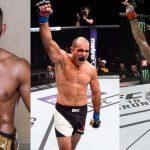 Lima, Fortuna e Juliana são azarões (Foto: Reprodução-Facebook UFC/Montagem: SL)