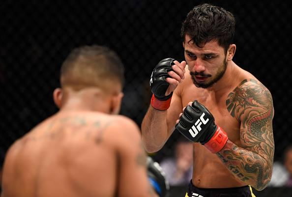 A. Pantoja faz segunda luta no UFC (Foto: Reprodução/Facebook/UFC)