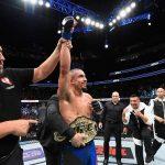 R. Whittaker é o novo campeão dos médios (Foto: Reprodução/Twitter/UFC_Brasil)