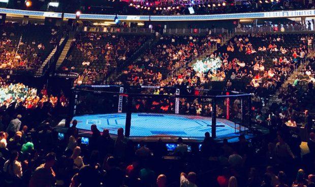 UFC deve realizar evento no Chile em 2018. Foto: Reprodução / Twitter / T-Mobile Arenadev