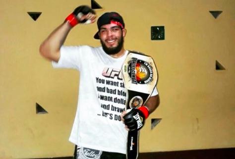 Boi vai estrear no UFC dia 28 de outubro (Foto: Reprodução/Instagram CarlosBoi)