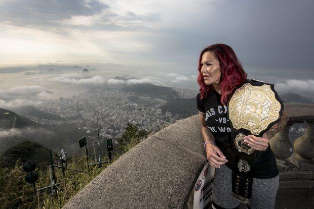 C. Cyborg está na bronca com o UFC Foto: Alexandre Loureiro/Divulgação UFC