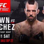 Duelo irá acontecer dia 11 de novembro (Foto:Reprodução/Divulgação/UFC)