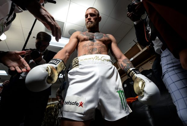 McGregor dará entrevista (Foto: Reprodução/Twitter UFCBrasil)