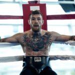 McGregor voltou a ironizar as chances de Floyd (Foto: Reprodução/Twitter UFCEurope)
