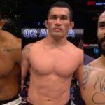 Brasileiros do UFC em Roterdã (Foto: Reprodução/CombatePlay/Montagem SL)