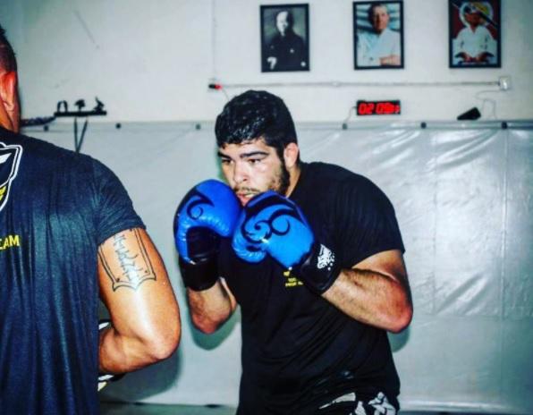 C. Boi está fora do UFC SP (Foto: Reprodução Instagram carlosboimma)