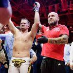 F. Maldonado é o novo campeão do Fight Nights (Foto: Reprodução Facebook Fight Nights)