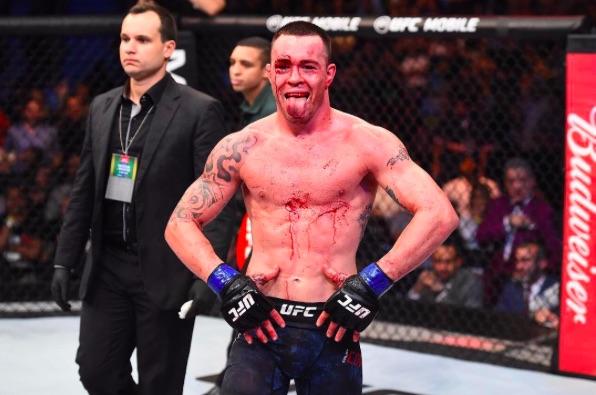 Covington esnobou as criticas recebidas (Foto: Reprodução/Instagram UFCBrasil)