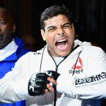 P. Borrachinha (foto) tem rivalidade com C. Mutante (Foto: Reprodução Facebook UFC)