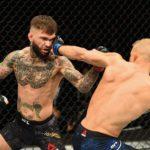 C. Garbrandt perdeu o cinturão no sábado (4) (Foto: Reprodução Facebook UFC)