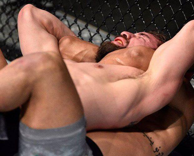 Davi finalizou Gruetzemacher no UFC Fresno. Foto: Reprodução / Instagram UFC Brasil