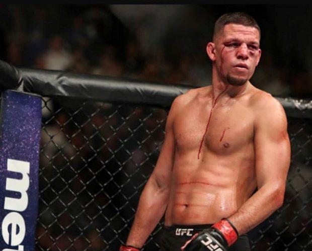 N. Diaz reclamou do UFC (Foto: Reprodução Facebook Nate Diaz)