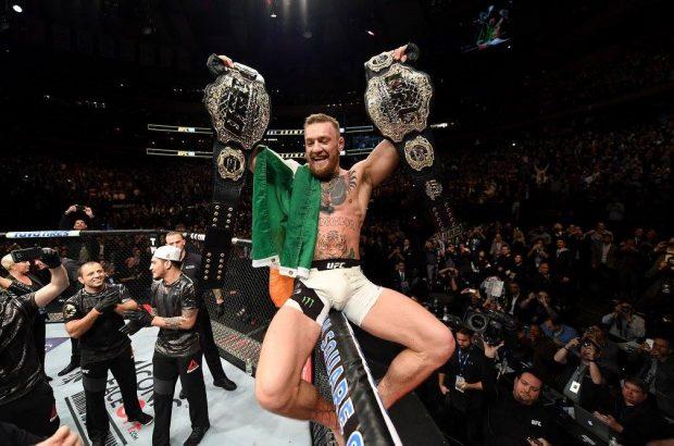 UFC deve retirar título de leves de C. McGregor. Foto: Reprodução / Facebook UFC