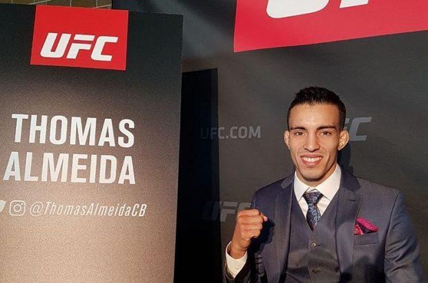 T. Almeida vem de derrota no Ultimate (Foto: Reprodução Instagram ufc_brasil)