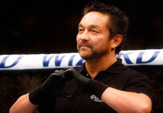 Yamazaki reconhece erro no UFC Belém. Foto: Reprodução / Facebook MarioYamazaki