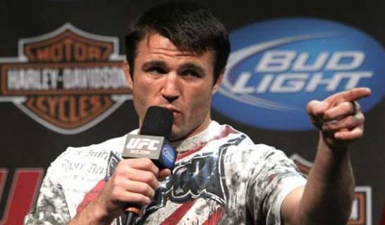 C. Sonnen ironiza desafios de Lyoto e Belfort. Foto: UFC
