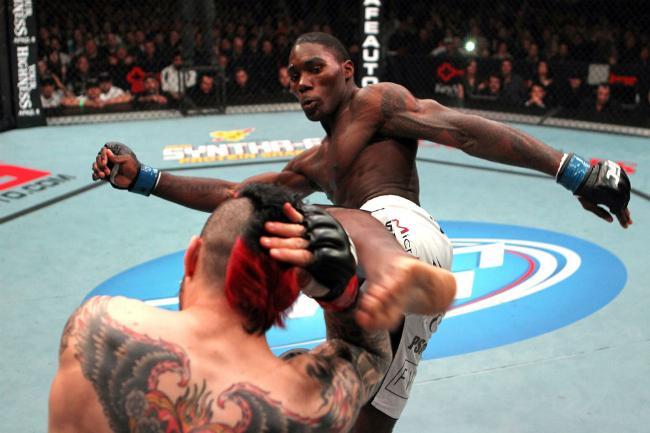 Anthony Johnson esbanja confiança para encarar Vitor Belfort no UFC Rio. Foto: Josh Hedges