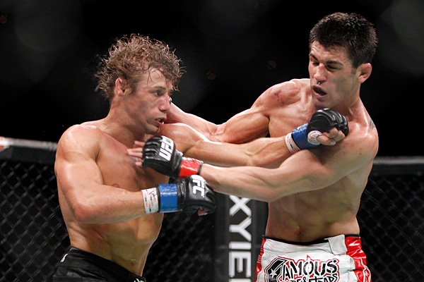Faber (esq.) e Cruz (dir.) se enfrentarão pela terceira vez. Foto: Divulgação/UFC