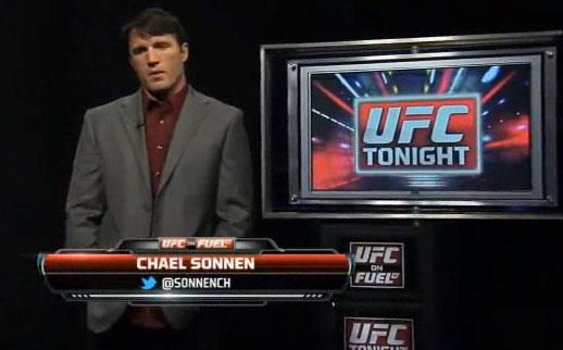 Sonnen não faz mais parte do elenco do UFC Tonight. Foto: Reprodução