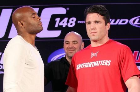 Anderson (esq.) vs. Anderson Silva (dir.) foto: Wander Braga / UFC