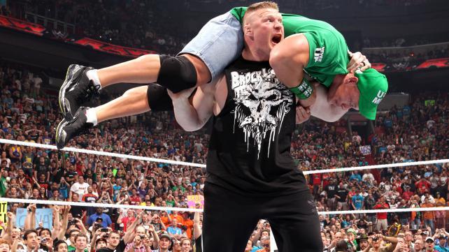 Stephan Bonnar afirmou que Lesnar (foto) irá bater em alguns caras na WWE. Foto: Divulgação