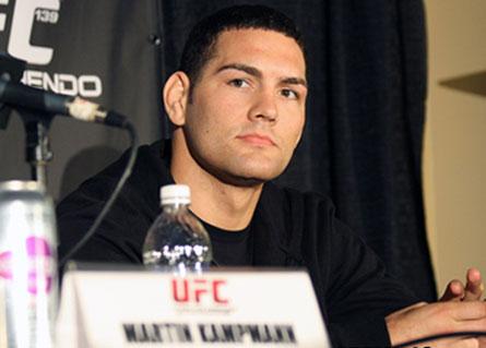 Chris Weidman quer que UFC marque sua logo sua luta contra Anderson Silva