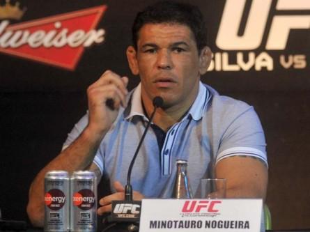 Minotauro (Foto) diz estar acompanhando a situação de Toquinho de perto. Foto: UFC